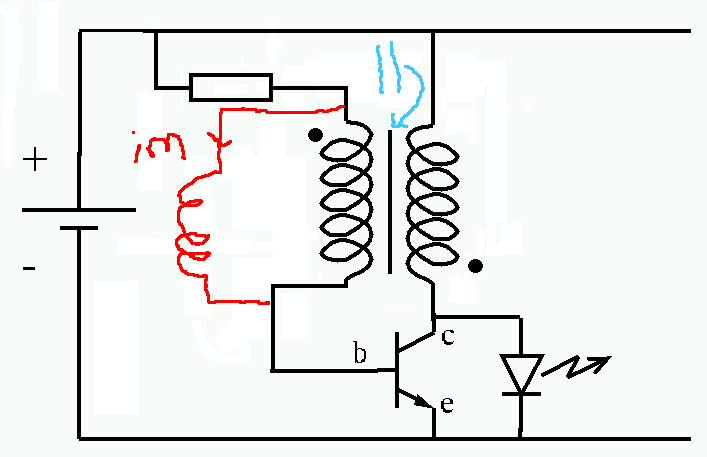 Joule Thief Devre Elemanlar C4 B1 Ne I C5 9Fe Yarar moreover Joule Thief likewise Intersection Wiring Diagram as well Weekend Projects With Bre Pettis Make A Joule Thief as well Step 3 Keeping The Pairs. on weekend projects with bre pettis make a joule thief